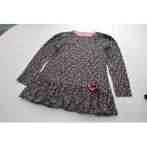 Vestido De Nena En Algodón Estampado