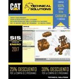 Sis Caterpillar 2017 + Et2017 + Otros+ Disco Ext 1tb Toshiba