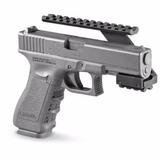 Riel De Montaje Airsoft Picatinny Glock 17 19 25 22 23 30 32