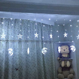 Luces Estrella Star Luces Moon Star String Light 138 Le...