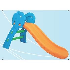 Escorregador Infantil De Plastico Laranja
