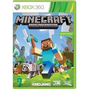 Jogo Minecraft Xbox 360 Edition Portugues Br Mídia Física