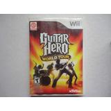 Guitar Hero World Tour Wii Completo Y Original Wii U