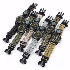 Reloj Paracord Tactico Militar - Outdoor