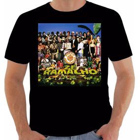 Camiseta 1011 Disco Zé Ramalho Nação Nordestina 2000 Algodão
