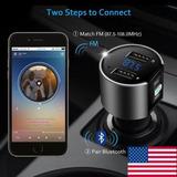 Jl De Bluetooth 2.1 Coche Fm Transmisor Inalámb-172955511972