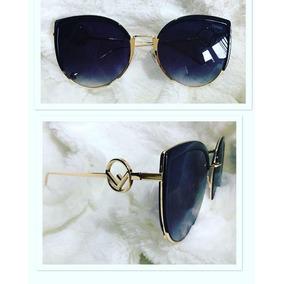 Oculos De Gatinho Preto Fendi - Óculos De Sol no Mercado Livre Brasil 58e2c5d440