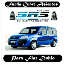Funda Cubre Asientos D Cuero Ecologic P/fiat Doblo 2 Butacas