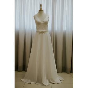 Vestido De Noiva Liso