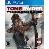 Tom Raider Definity Edition Ps4-juego Fisico