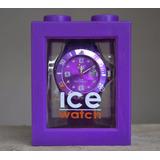 Reloj Morado Marca Ice Watch ¡nuevo!