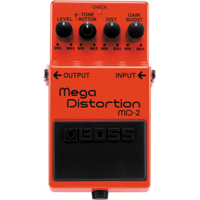 Boss Md-2 Mega Distortion Md 2 Pedal Efeitos Guitarra Md2