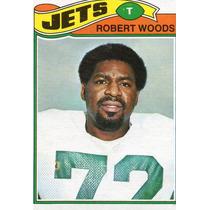 1977 Topps Mexican Robert Woods Jets De Nueva York
