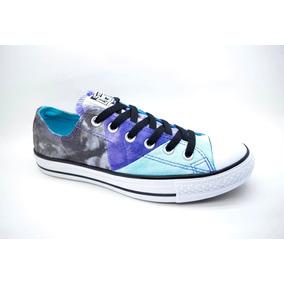 Zapatillas Converse Chuck Taylor Multipanel Gris C/violeta