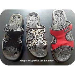 Chinelo/tamanco Perfil Magnético,do-in,ortopédico Da Kenfoot