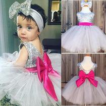 Vestido Bebê Recém Nascido Menina Infantil