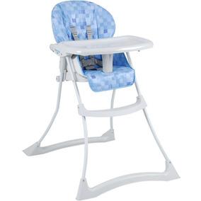 Cadeira Refeição Papa Soneca Cubes Azul