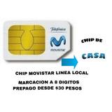 Chip Fijo De Casa Movistar Marcacion Como Local