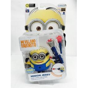 Minion Jerry Con Lanza Gelatina 10cm Toy Plus