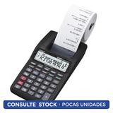 Calculadora Casio Hr-8tm-bk Con Impresora Districomp