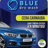 Kit Blue Dry Wash Lavado Y Encerado En Seco