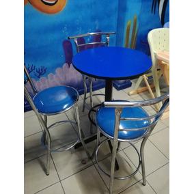 Mesas Y Sillas Periqueras, Restaurante,cafe, Bar