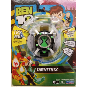 Reloj Ben 10 Omnitrix Luz Y Sonidos 40 Frases