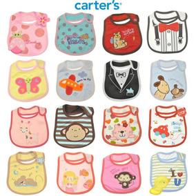 6 Baberos Carters Bebe Nena Y Nene