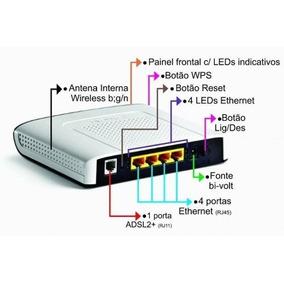 Modem Roteador Adsl Tecnicolor Td5130