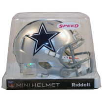 Nfl Dallas Cowboys Mini Casco Modelo Speed By Riddell