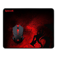 Kit Gamer Redragon Mouse + Pad M601 Luces Usb Gaming Pc