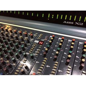 Baixei P Vender !console De Estúdio Alesis X2 (mesa De Som)