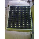 Panel Solar 100 W / 12 Voltios Solo El Panel