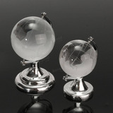 globo terraqueo de cristal mapamundi taurinstore
