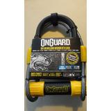 Candado U-lock Onguard Bulldog M C/cable 120cm Envio Gratis