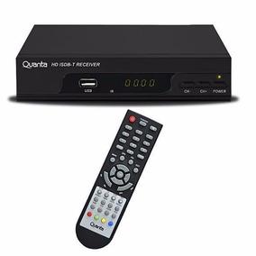 Conversor De Tv Digital Quanta Qtdtv1100 Usb 2.0 Hdmi Preto