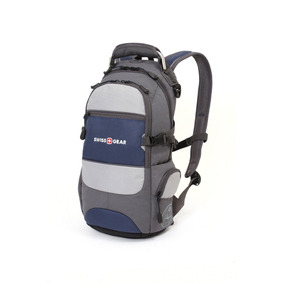 Swiss Gear City Pack 16510007 Mochila De Diario Azul Y Gris