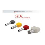 Terminales Puntera Doble Hueca 2.5mm Tif Ctd Pack X 100 Lct