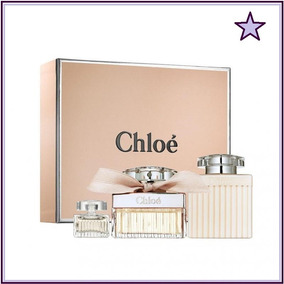Perfume Chloé Edp Kit Parfum 75ml+ Creme100ml+ Miniatura 5ml