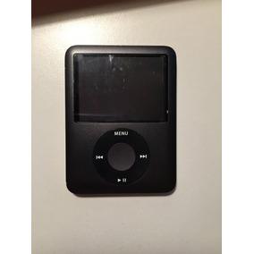 Ipod Nano 3ra Generación - 8gb Negro