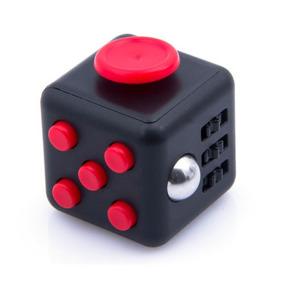 Rojo Fidget Cubo Juguete Regalo De Navidad! Alivio Del