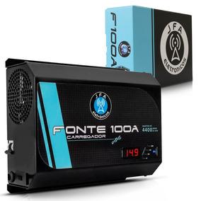 Fonte Carregador De Bateria 100a Jfa Bivolt Automatico