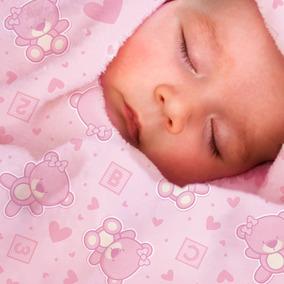 Manta De Bebê Soft Toque Macio E Suave Antialérgico Ursa