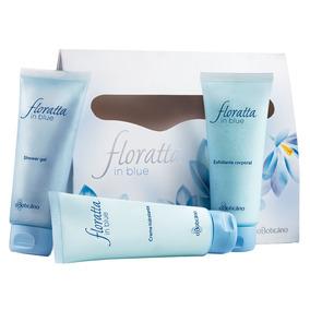 Kit Floratta In Blue Cuidados Para O Corpo