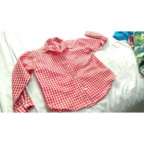Camisa Cuadrada Para Niño Bailable Talla 7