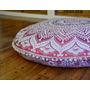 Nuevos Puff Mandala Desde India, Con O Sin Relleno! Divinos!