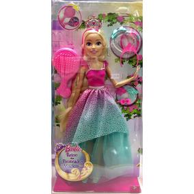 Barbie Gigante Reino Dos Penteados Mágicos 43 Cm Mattel