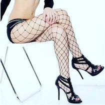 Pantimedia Red Abierta Nylo Lolita Sexy Fetiche Erotico Envi