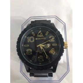 Relógio Original Marinus Preto Pesado Envio Imediato