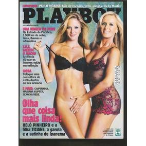 Revista Playboy Helo Pinheiro E Filha 5/2003 Ed. 333